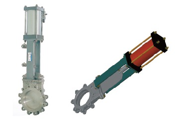 Cylinder actuator type
