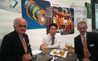 Meeting with Bitshman Co. at ACHEMA 2012 IN Germany
